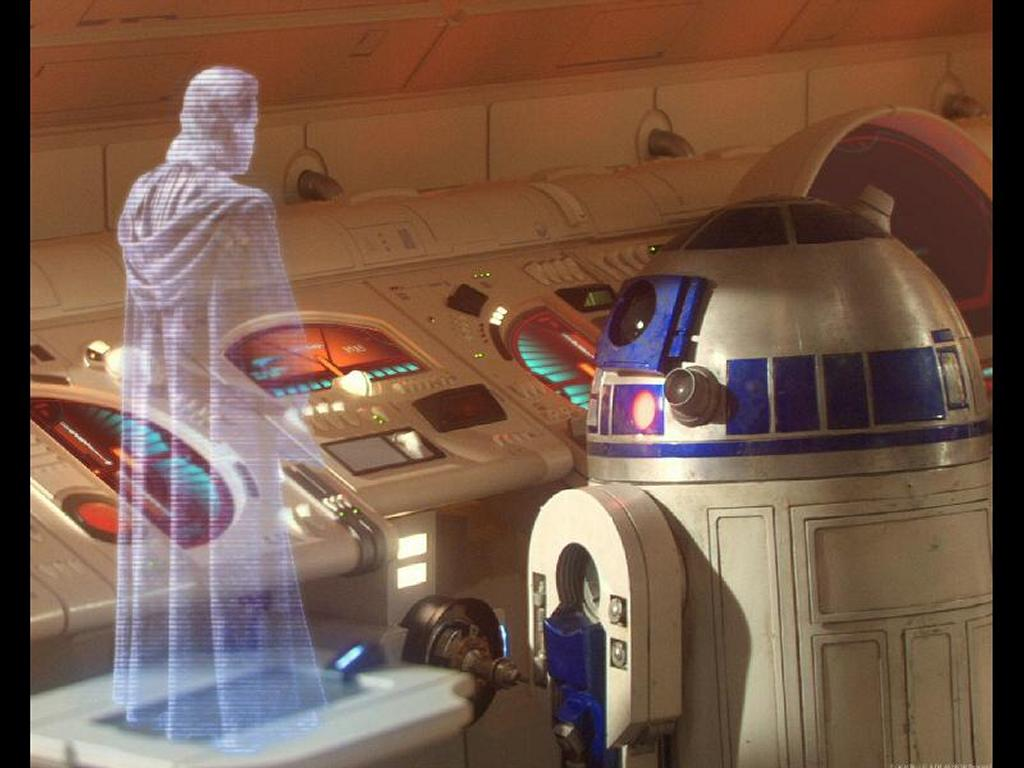 Star Wars Wallpaper: Obi-Wan - Hologram