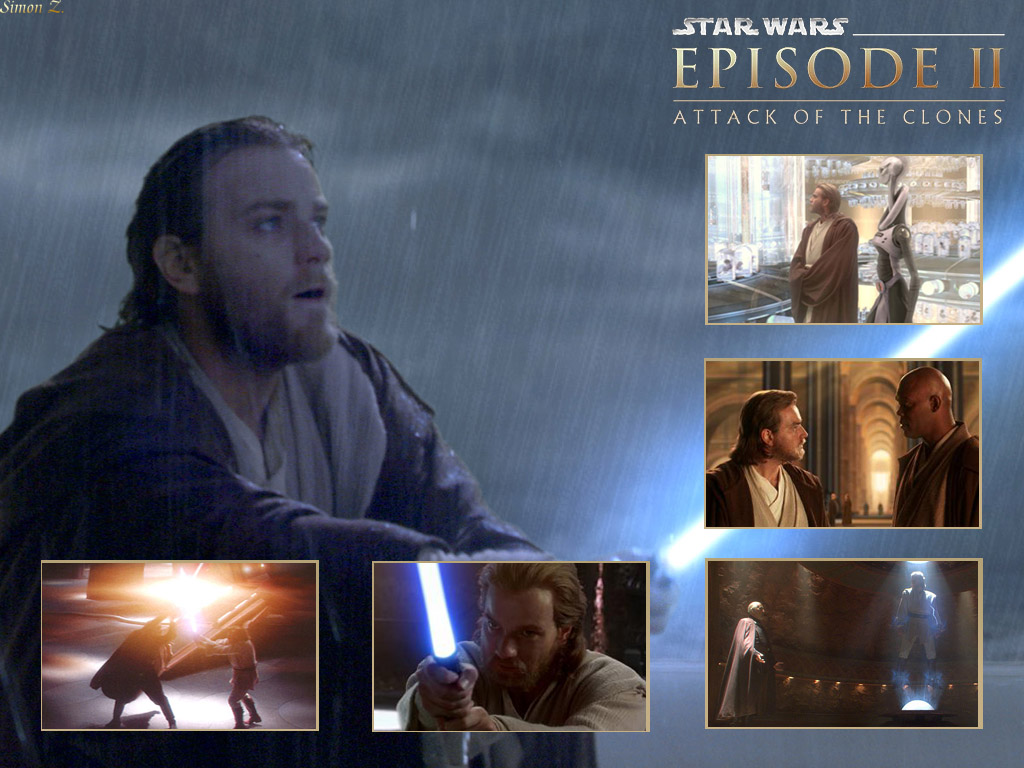 Star Wars Wallpaper: Obi-Wan Kenobi - Attack of the Clones