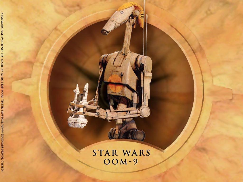 Star Wars Wallpaper: OOM-9 Battle Droid