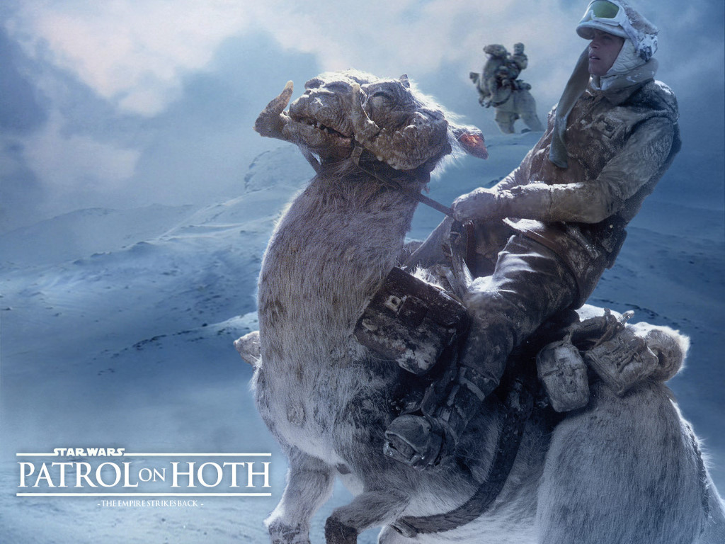 Star Wars Wallpaper: Patrol on Hoth