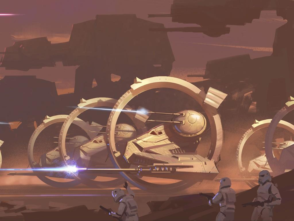 Star Wars Wallpaper: Imperial Strike
