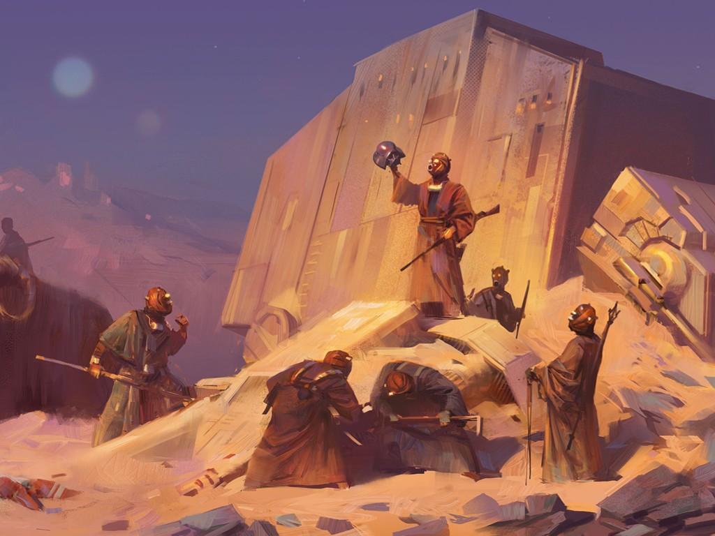 Star Wars Wallpaper: Sand People