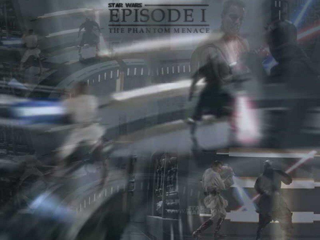 Star Wars Wallpaper: Phantom Menace - Final Battle