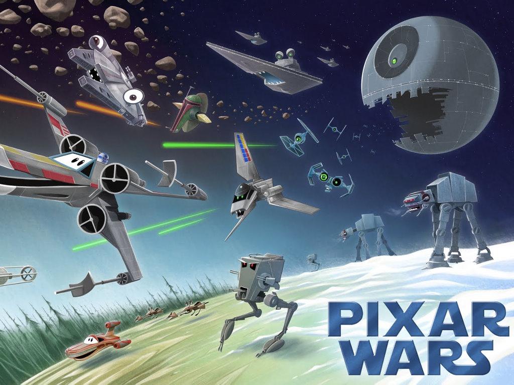 Star Wars Wallpaper: Pixar Wars