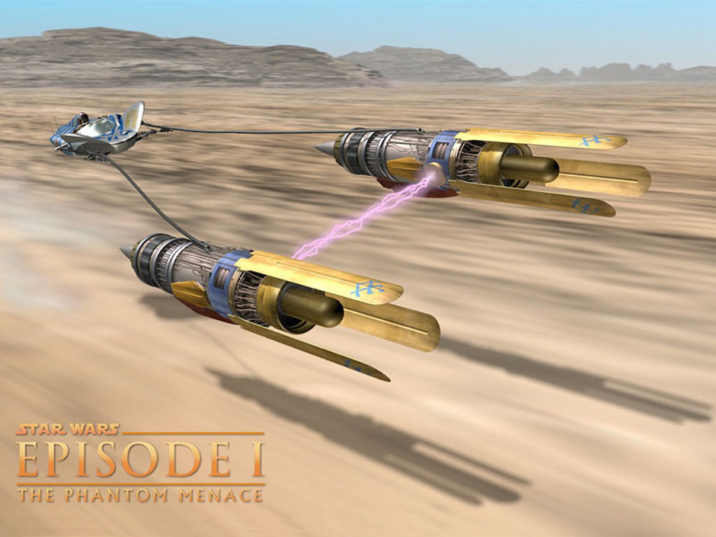 Star Wars Wallpaper: Pod Racer