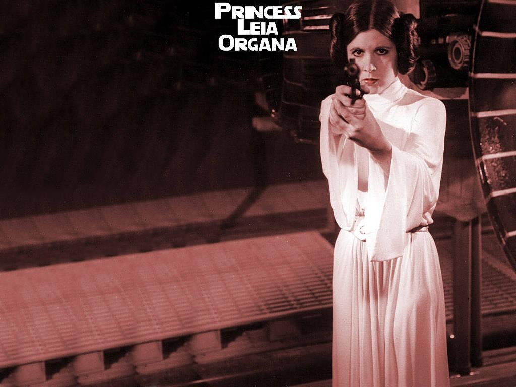 Star Wars Wallpaper: Princess Leia Organa
