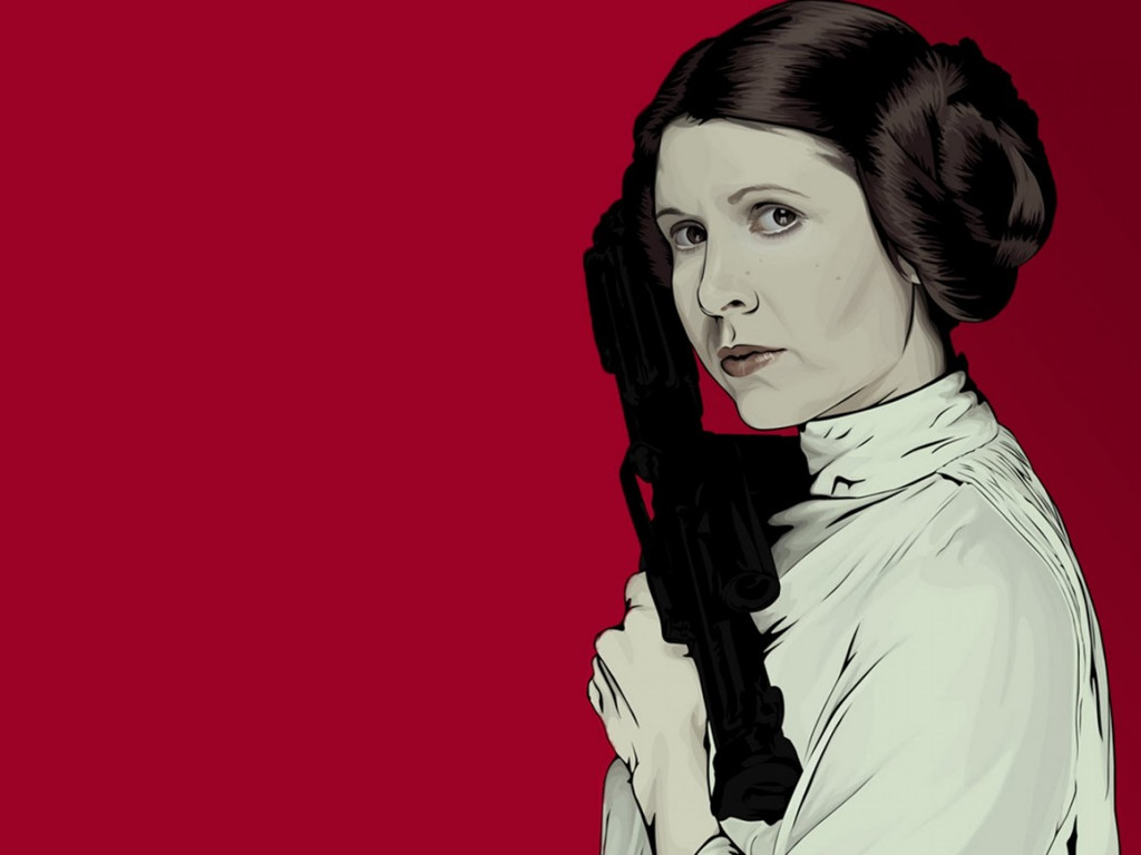 Star Wars Wallpaper: Princess Leia