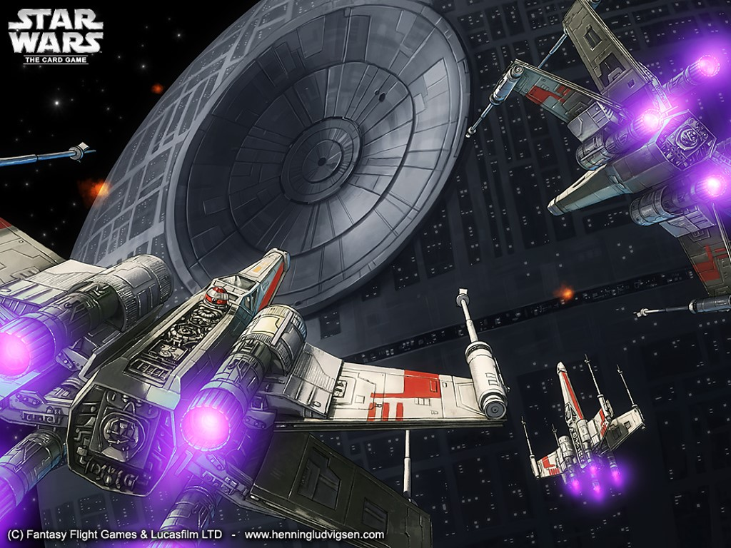 Star Wars Wallpaper: Probe Their Defenses