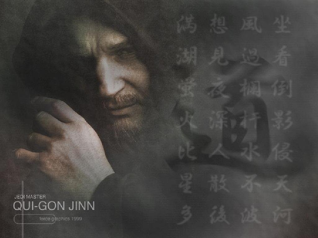 Star Wars Wallpaper: Qui-Gon Jinn