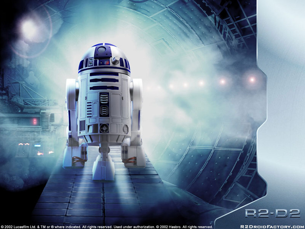 Star Wars Wallpaper: R2-D2 - Droid Factory