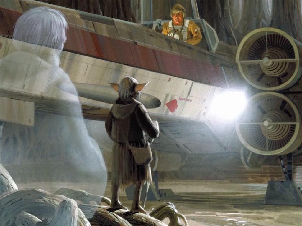 Star Wars Wallpaper: Ralph McQuarrie - Dagobah