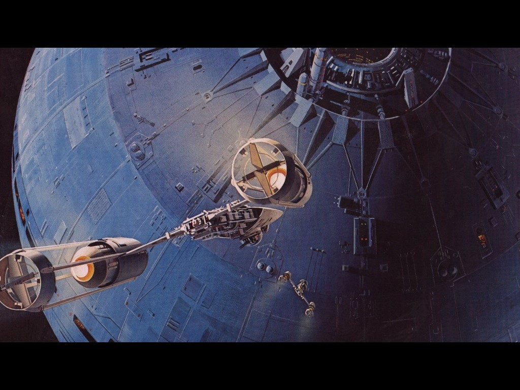Star Wars Wallpaper: Ralph McQuarrie - Death Star