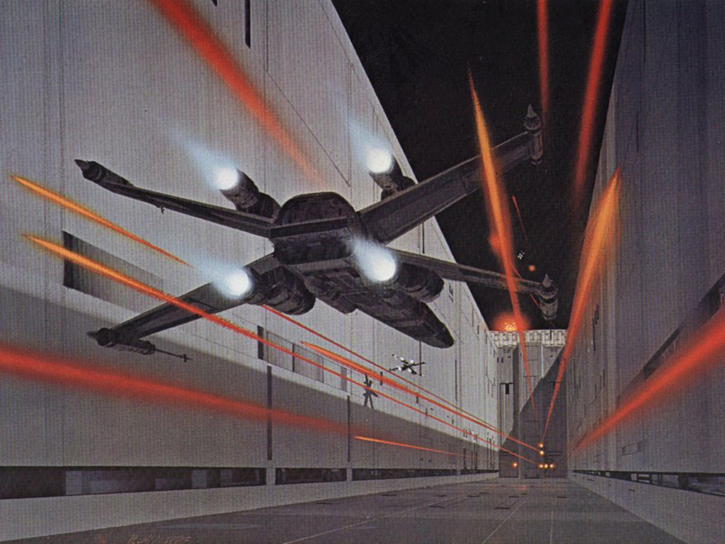 Star Wars Wallpaper: Ralph McQuarrie - A New Hope