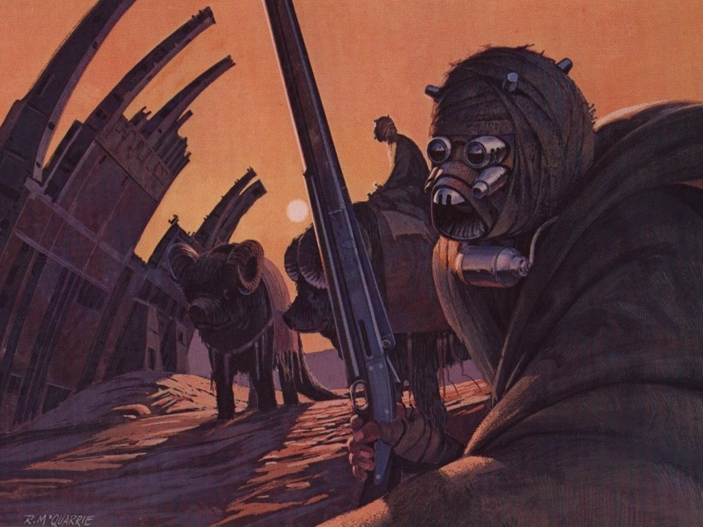 Star Wars Wallpaper: Ralph McQuarrie - Sandpeople