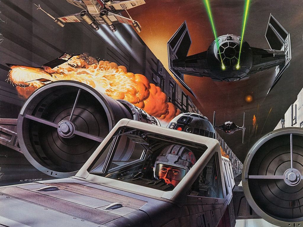 Star Wars Wallpaper: Ralph McQuarrie - Official Star Wars Fan Club