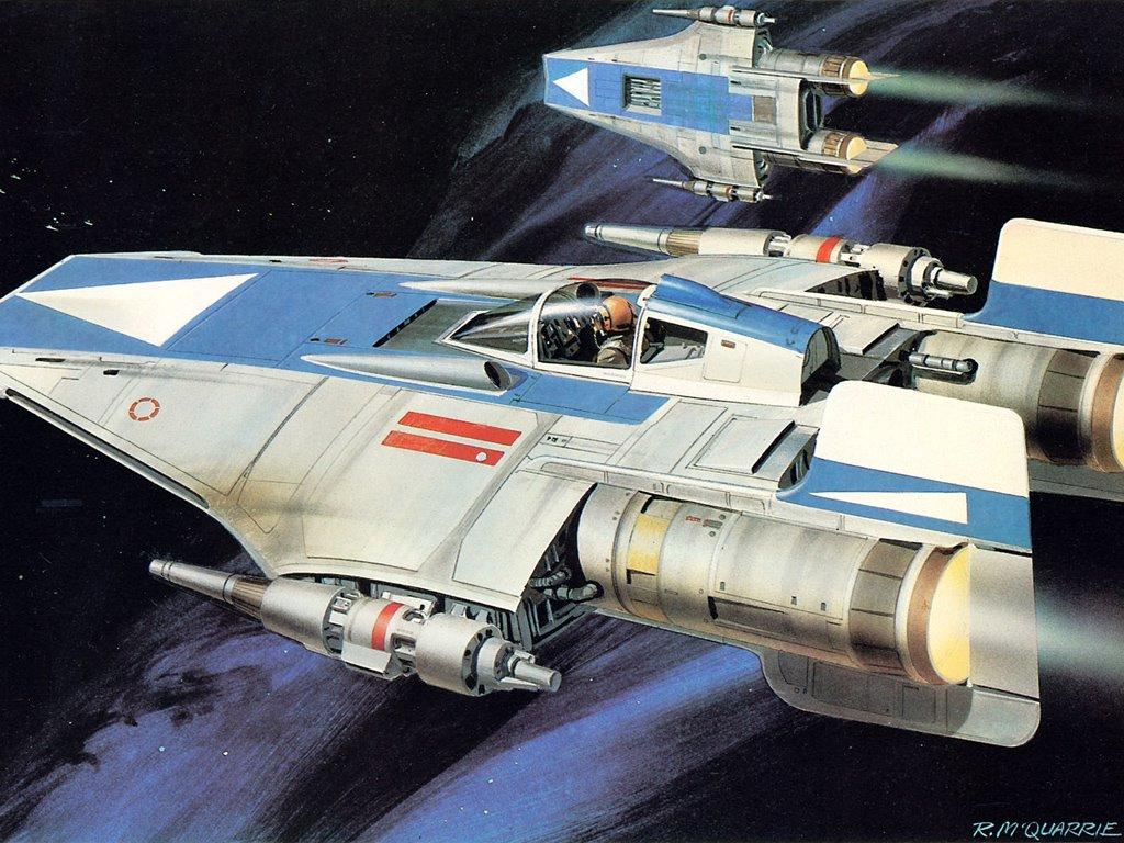 Star Wars Wallpaper: Ralph McQuarrie - Patrol