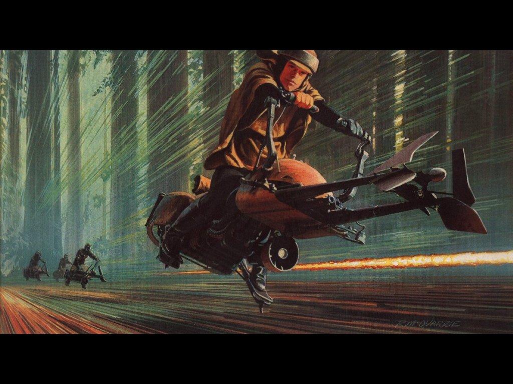 Star Wars Wallpaper: Ralph McQuarrie - Return of the Jedi