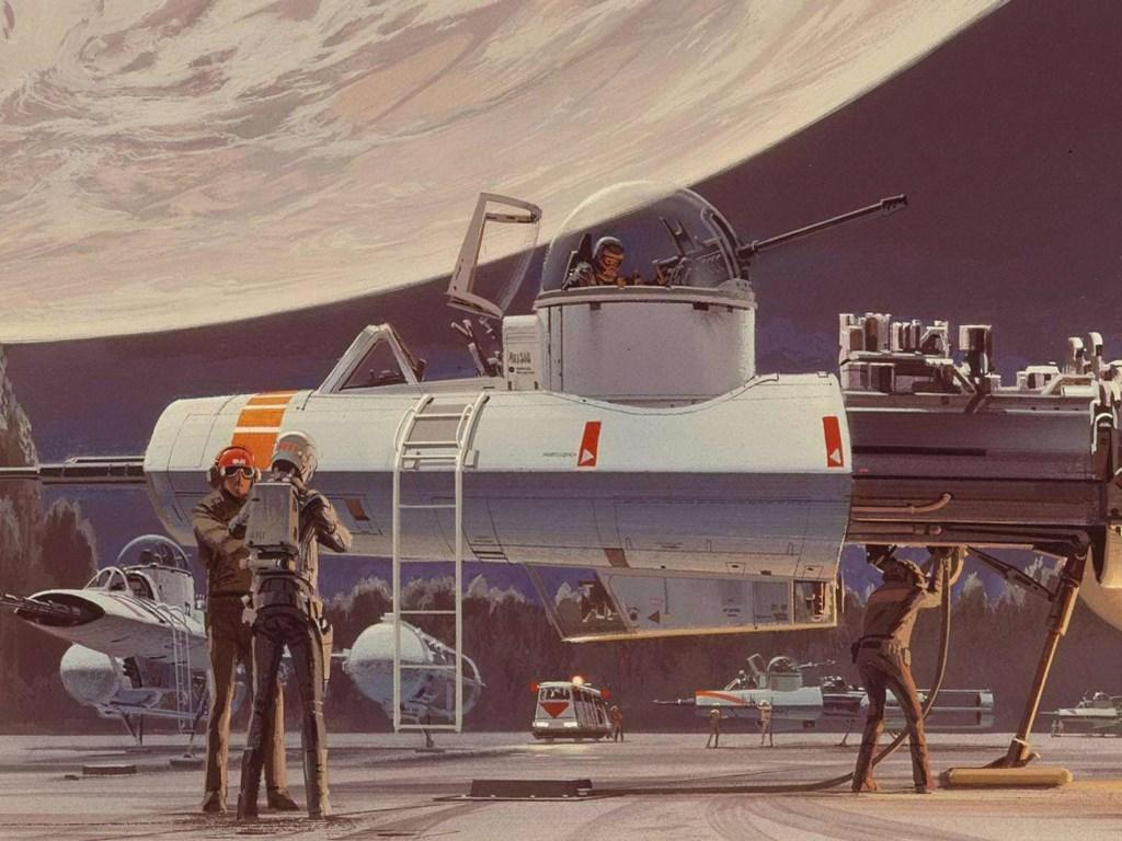 Star Wars Wallpaper: Rebel Alliance - Hangar