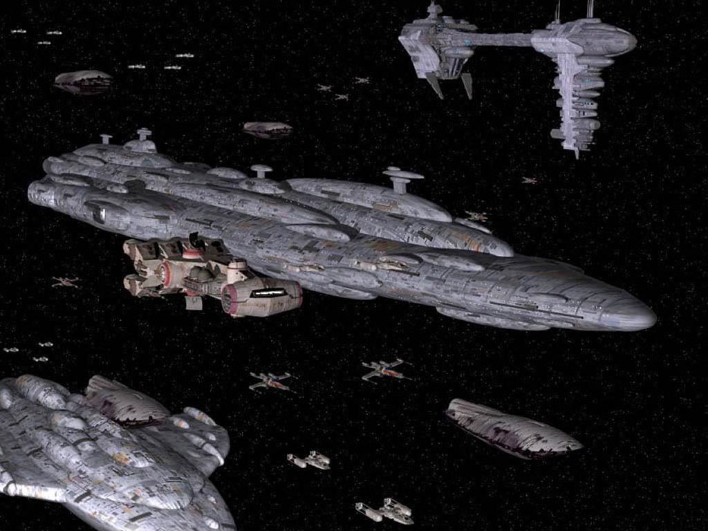 Star Wars Wallpaper: Rebel Fleet