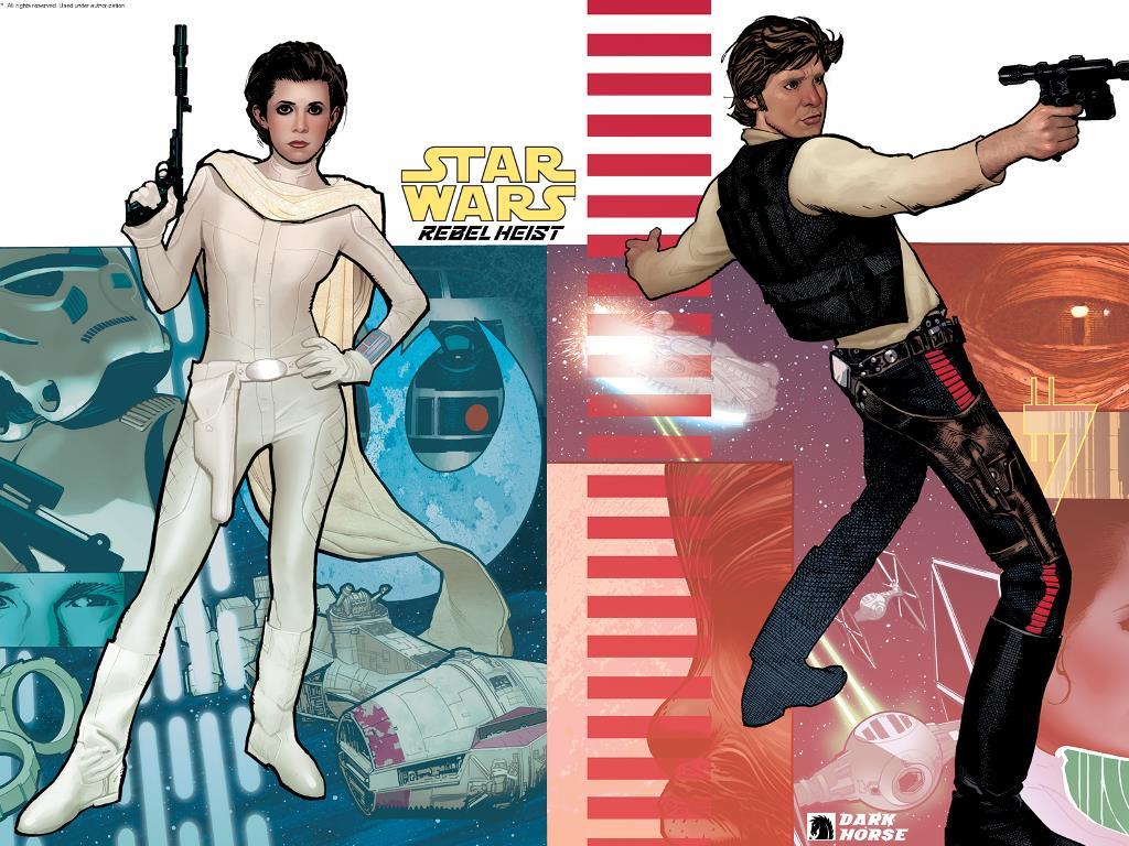 Star Wars Wallpaper: Rebel Heist