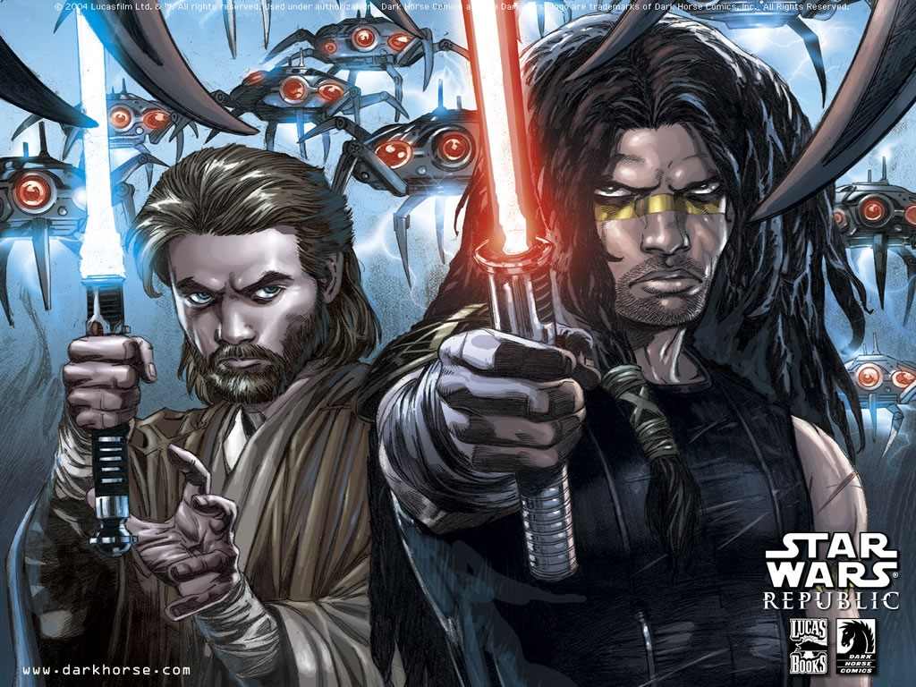 Star Wars Wallpaper: Republic - Comics