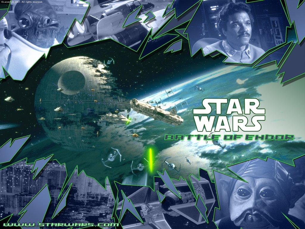 Star Wars Wallpaper: Return of the Jedi - Battle of Endor