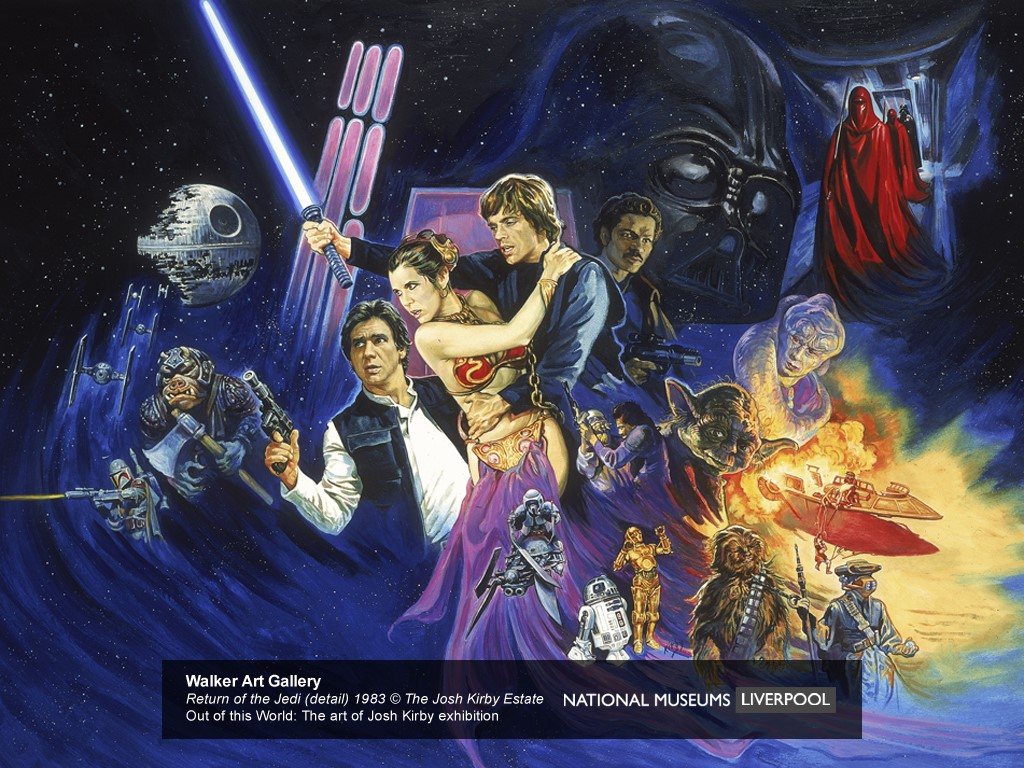 Star Wars Wallpaper: Return of the Jedi (by Josh Kirby)