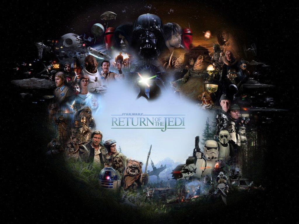 Star Wars Wallpaper: Return of the Jedi - Characters