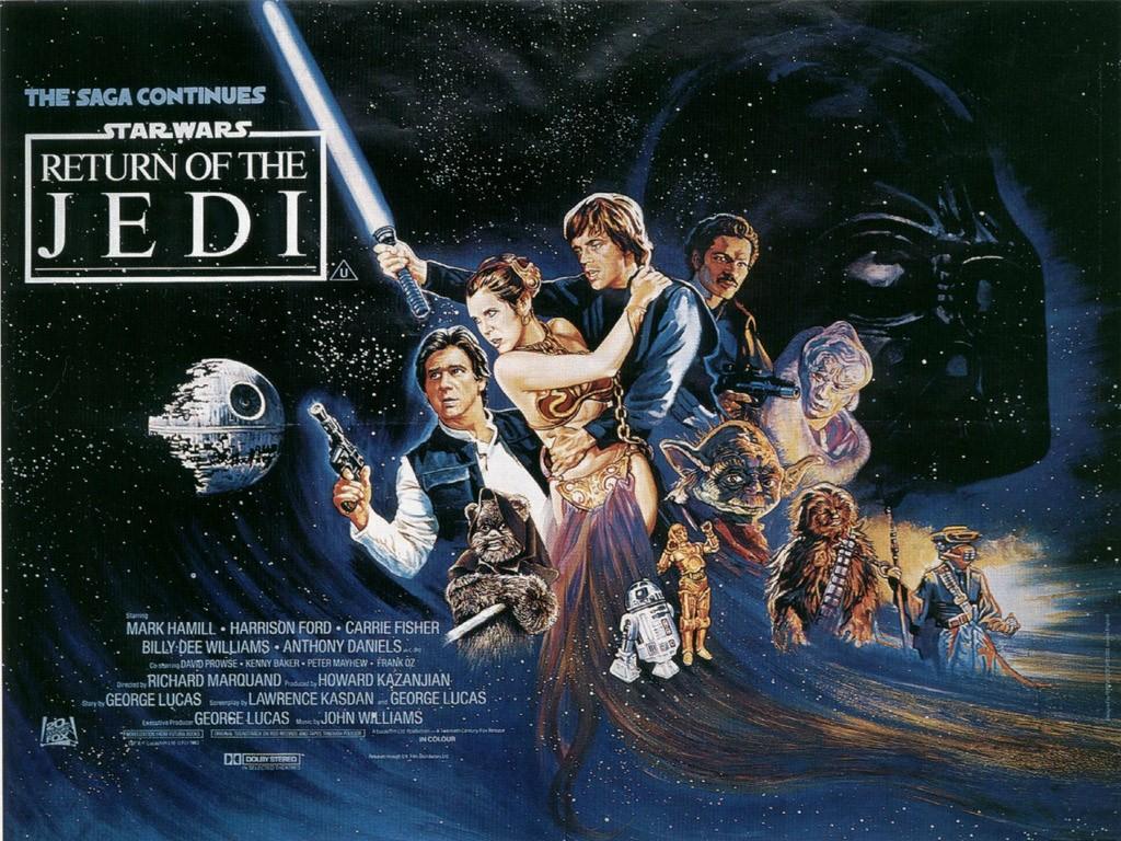 Star Wars Wallpaper: Episode VI - Return of the Jedi (Original Poster)