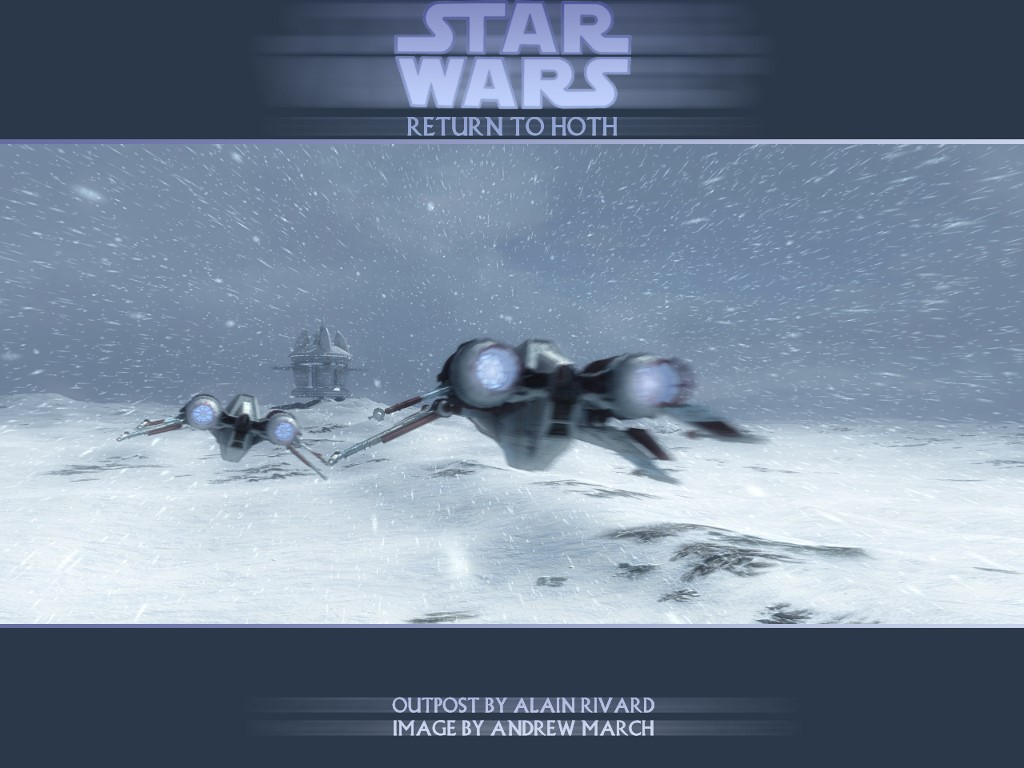 Star Wars Wallpaper: Return to Hoth