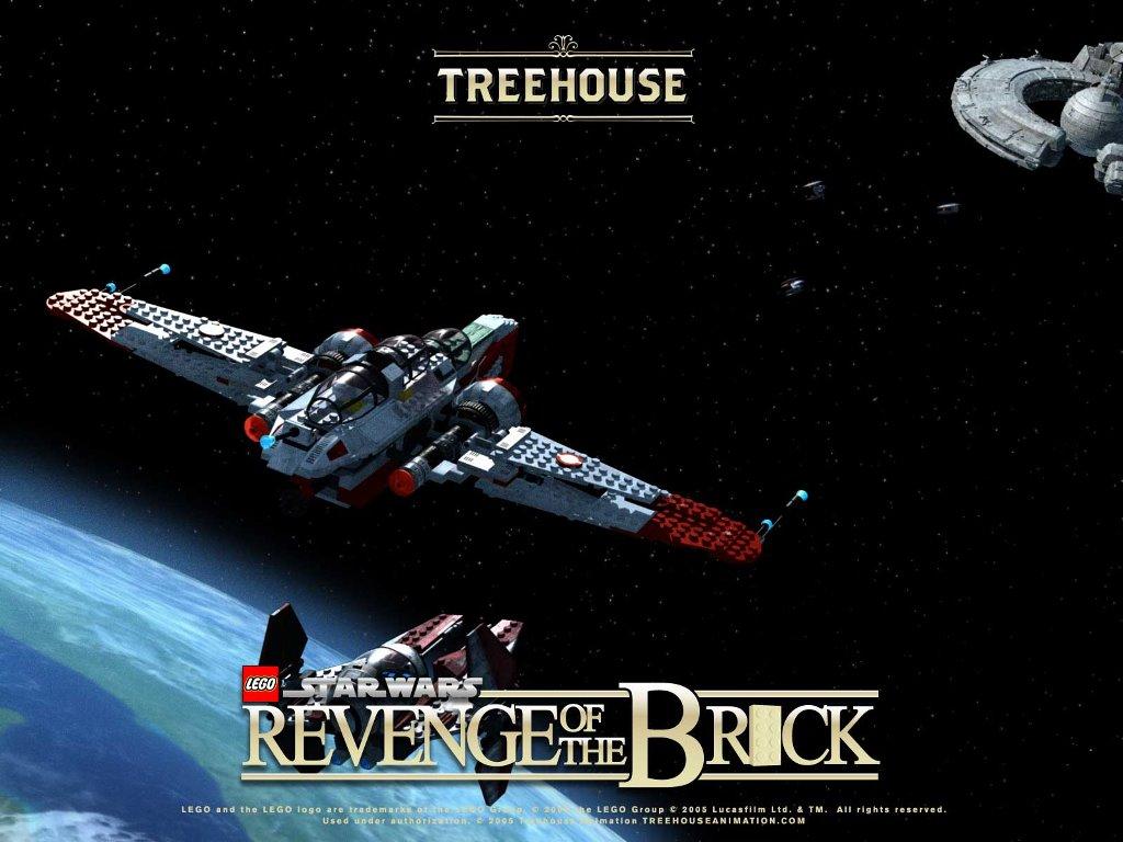 Star Wars Wallpaper: Revenge of the Brick