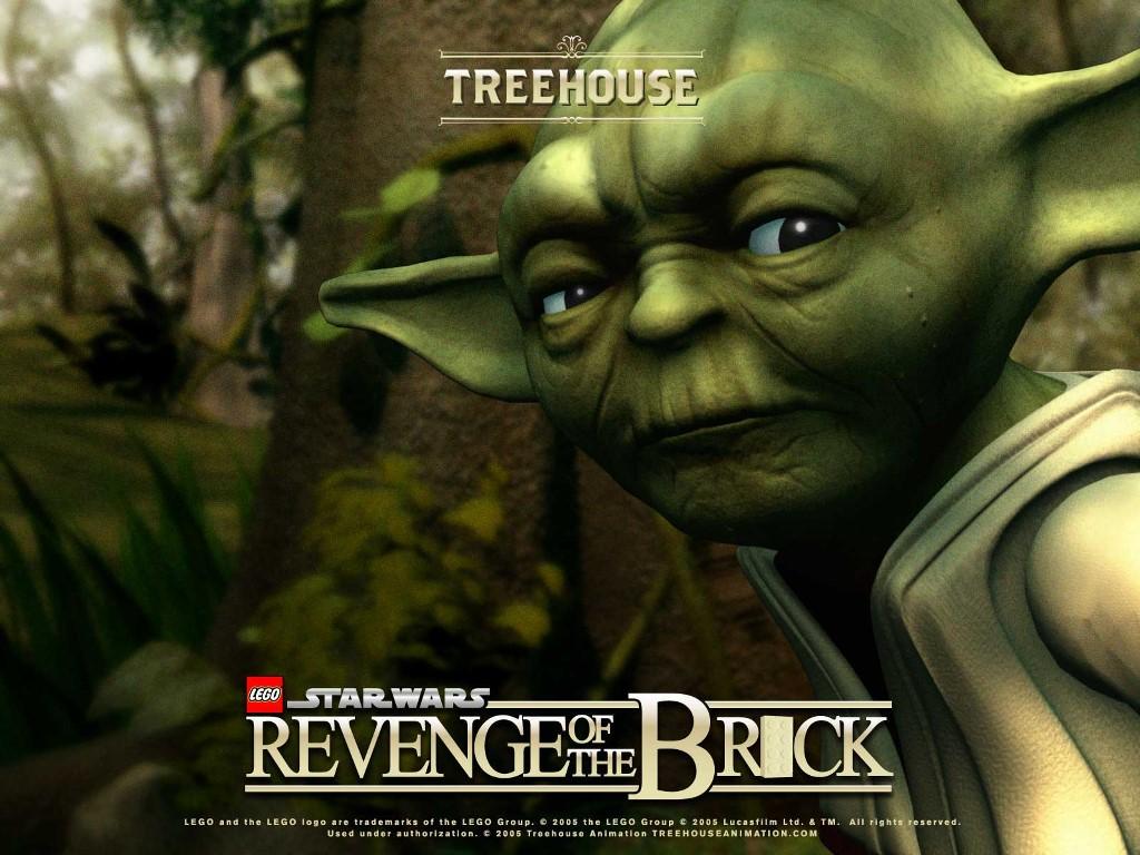 Star Wars Wallpaper: Revenge of the Brick - Yoda