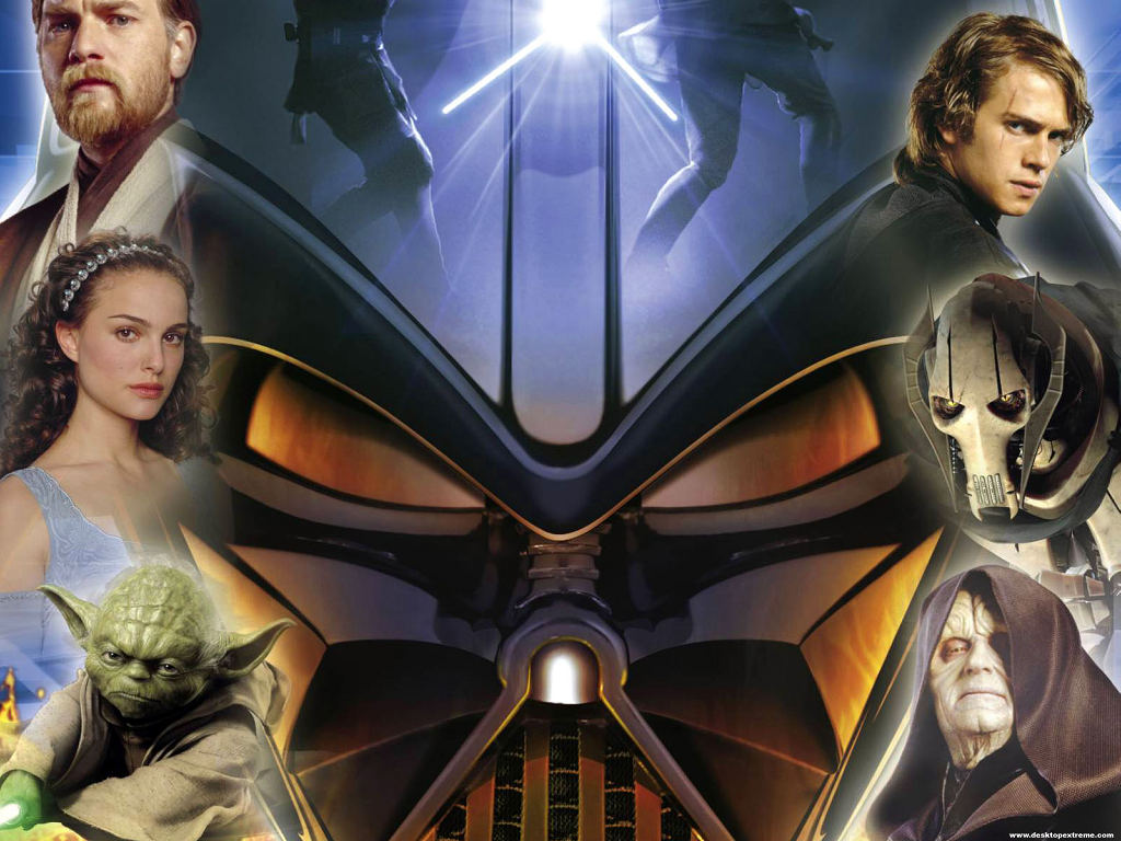Star Wars Wallpaper: Revenge of the Sith - Characters