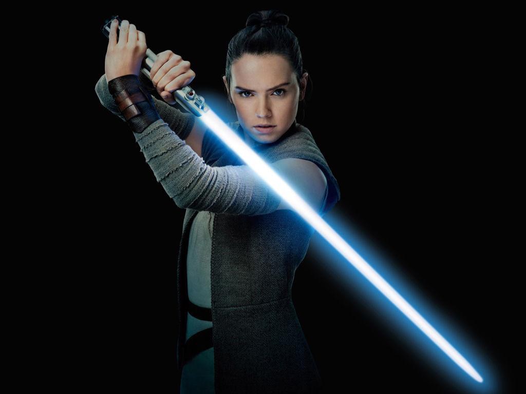 Star Wars Wallpaper: Rey - Jedi Apprentice