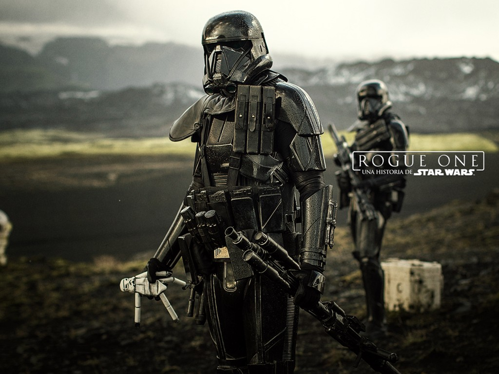 Star Wars Wallpaper: Rogue One - Death Troopers