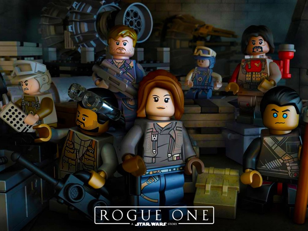 Star Wars Wallpaper: Rogue One - Lego