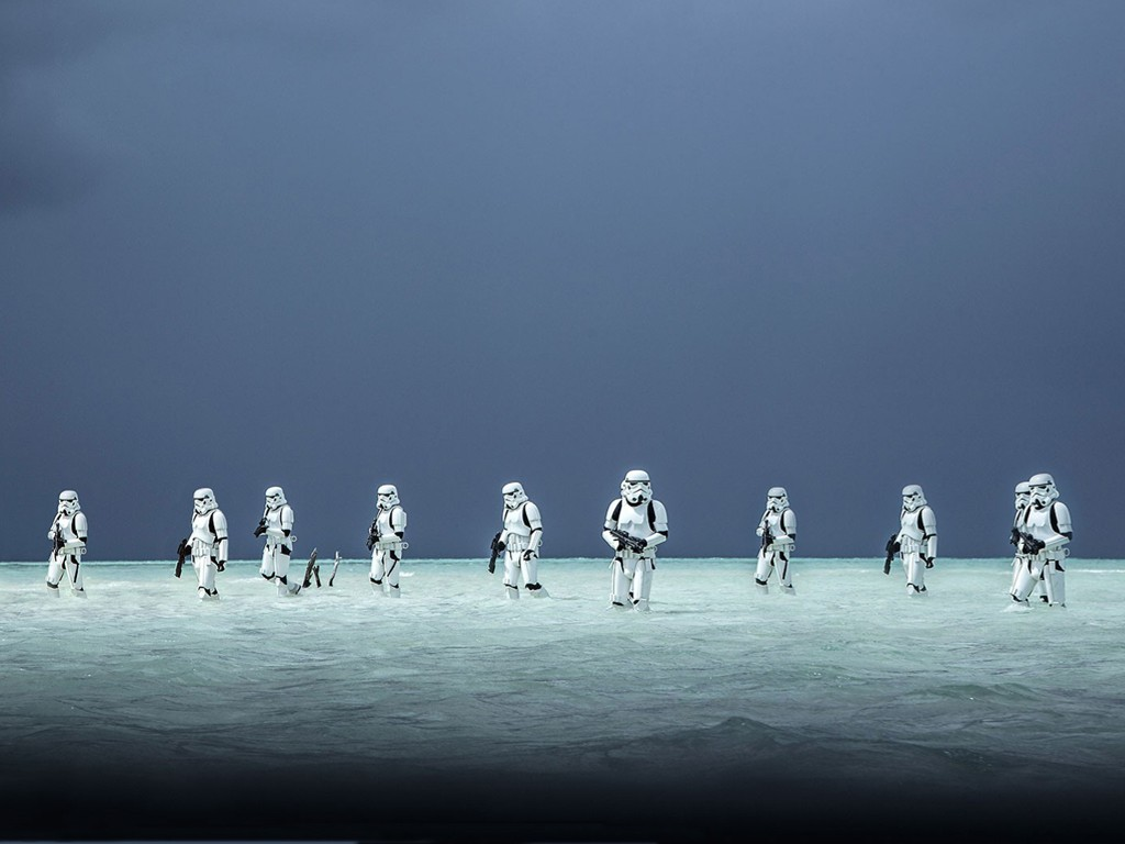 Star Wars Wallpaper: Rogue One - Stormtroopers