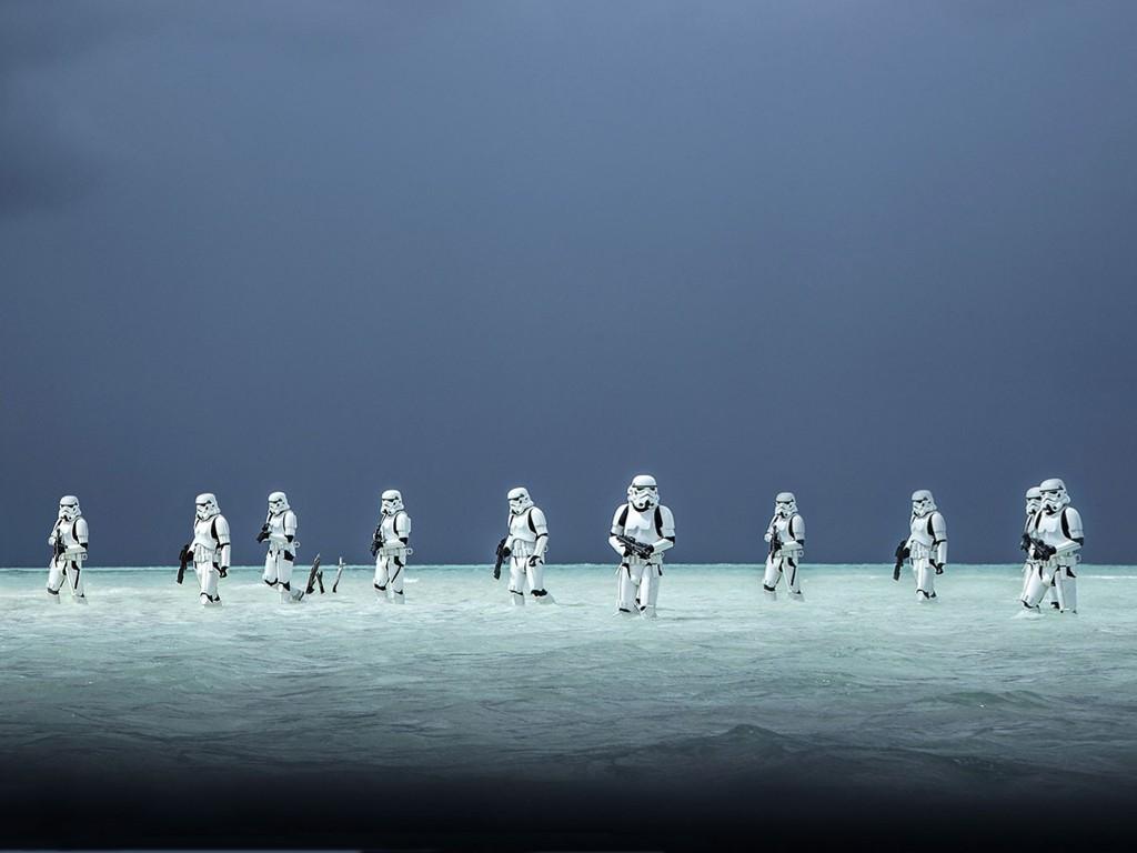 Papel de Parede Gratuito de Guerra nas Estrelas : Rogue One - Stormtroopers