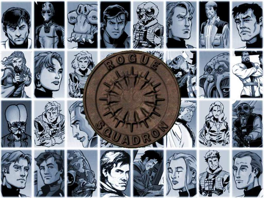 Star Wars Wallpaper: Rogue Squadron