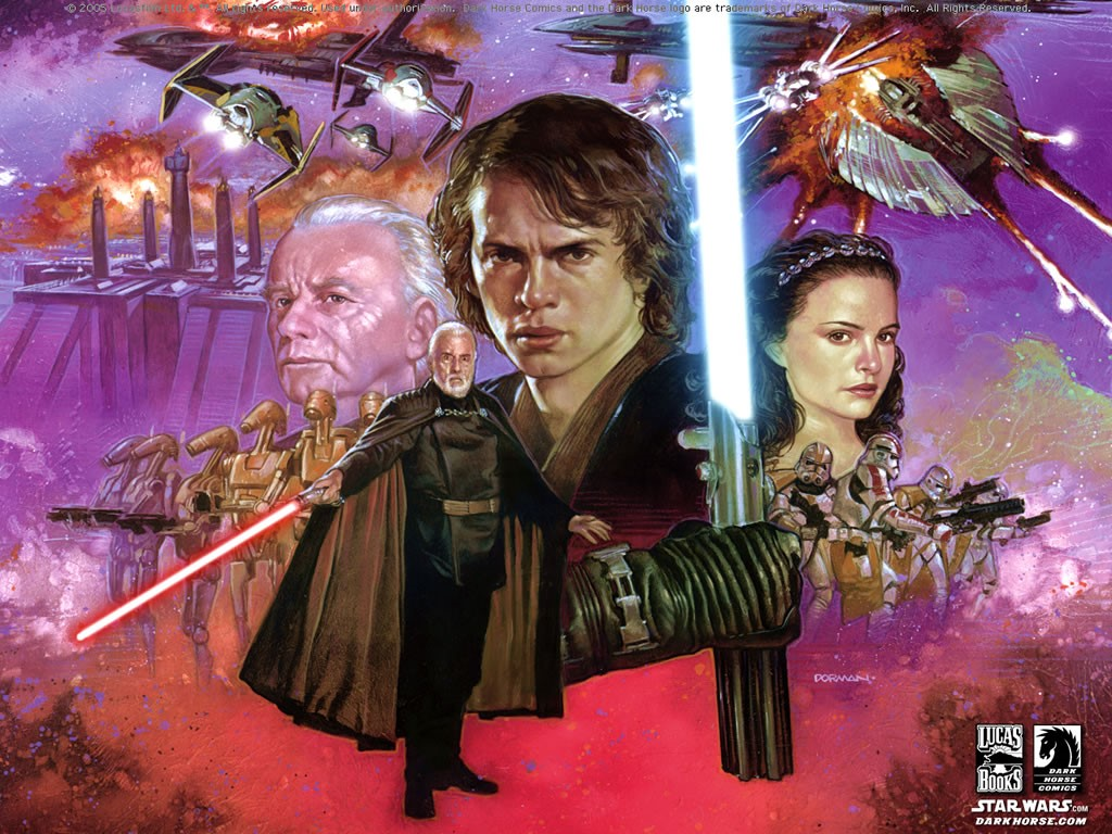 Star Wars Wallpaper: Revenge of the Sith - Comics