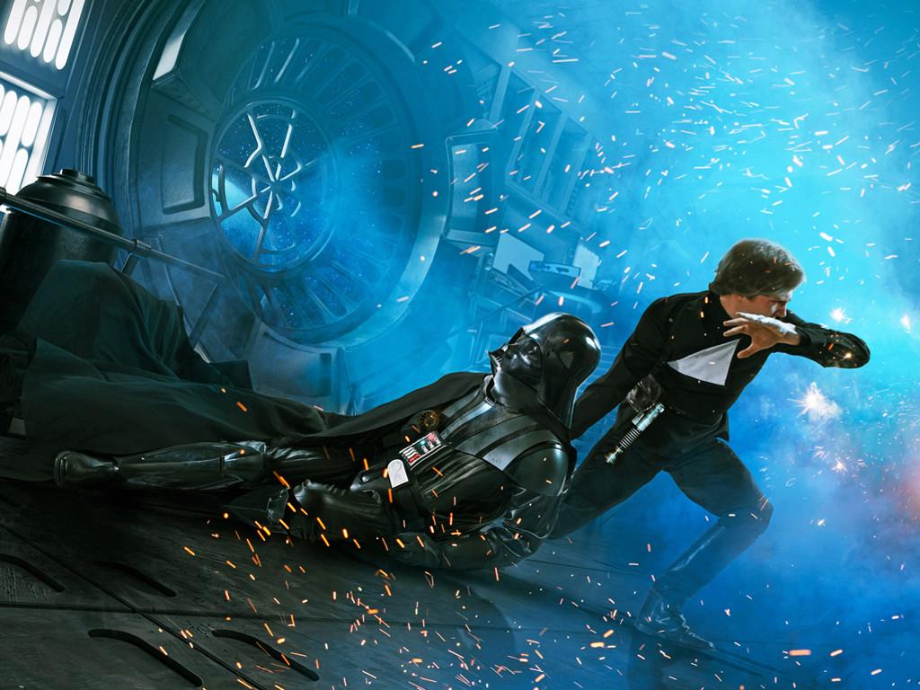 Star Wars Wallpaper: Saving Vader