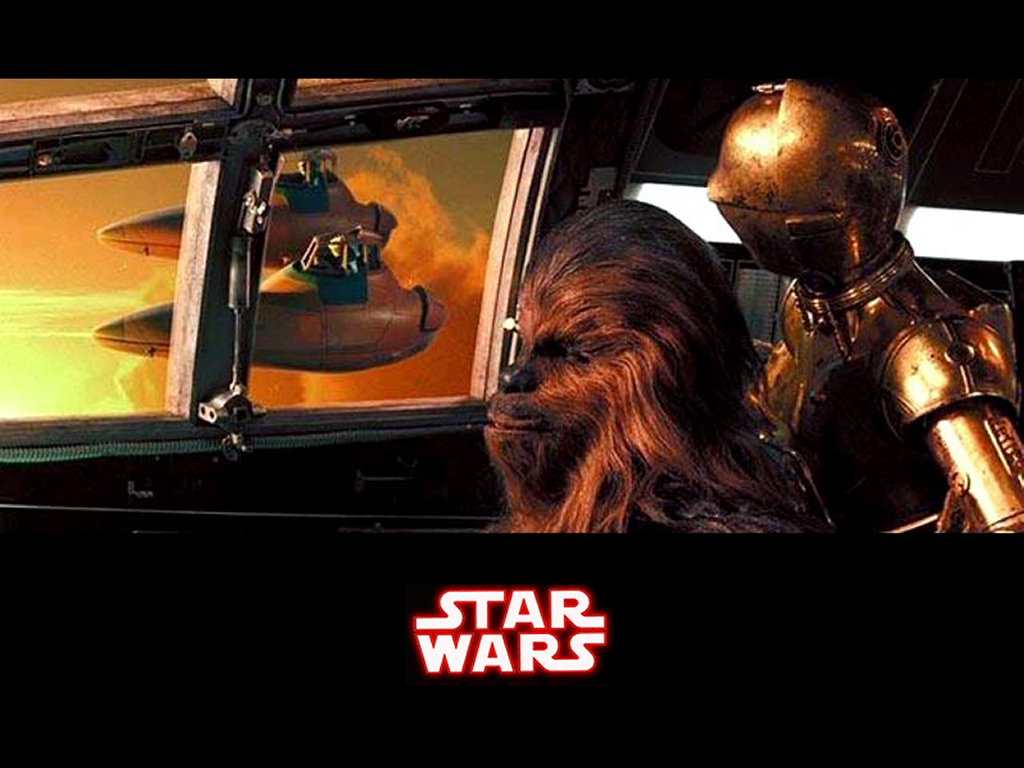 Star Wars Wallpaper: Scort Ship