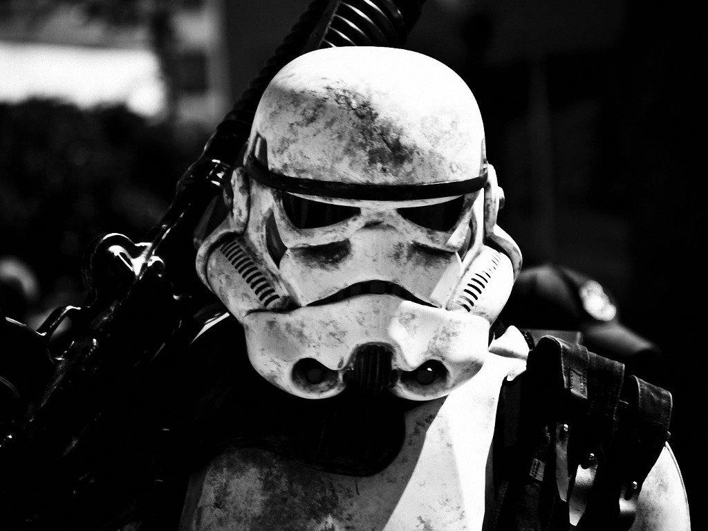 Star Wars Wallpaper: Stormtrooper - Seasoned