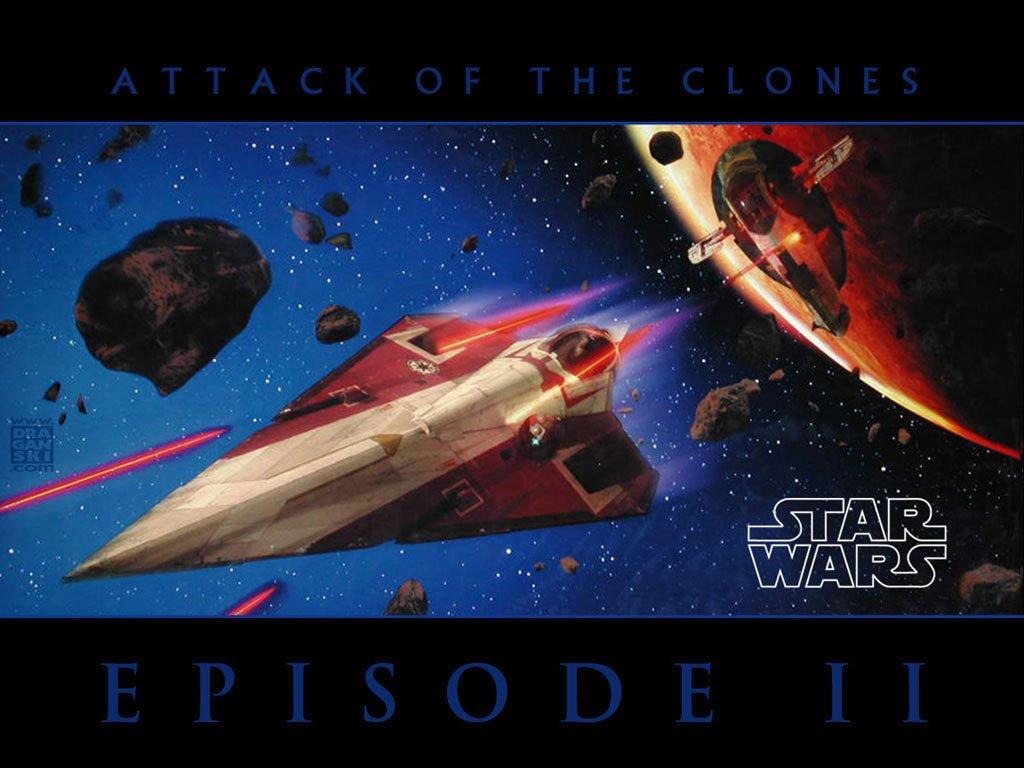 Star Wars Wallpaper: Episode II - Attack of the Clones