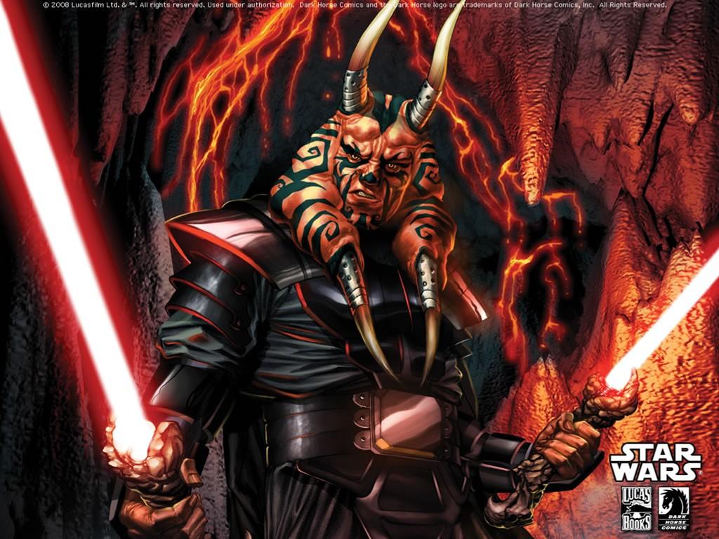 Star Wars Wallpaper: Sith - Dual Wielding