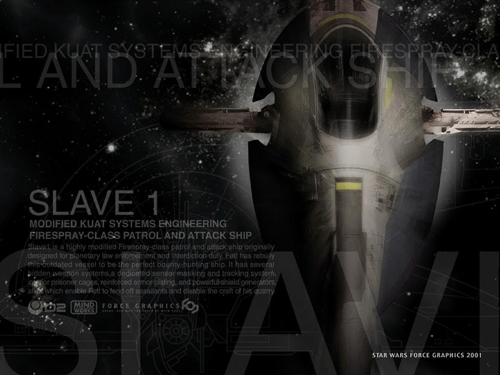 Star Wars Wallpaper: Slave 1