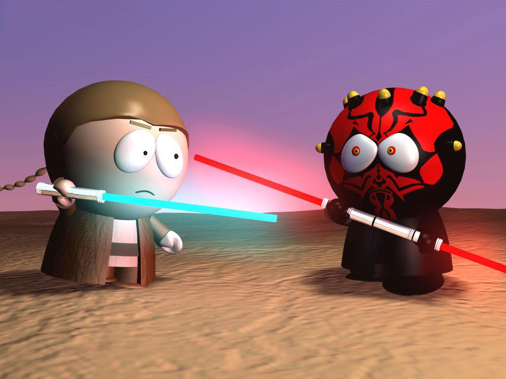 Star Wars Wallpaper: South Park - Jedi Knight