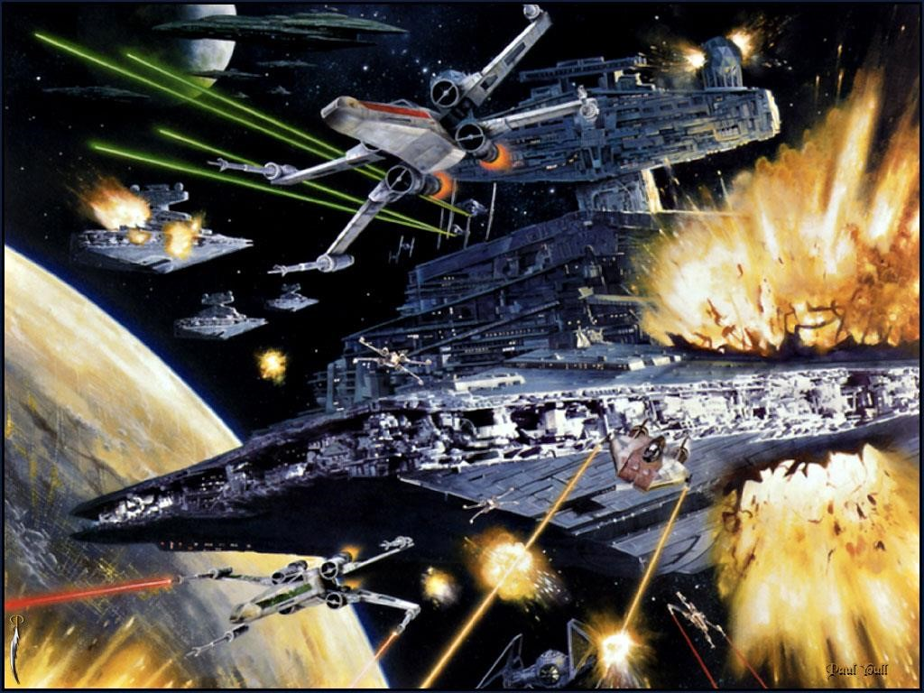 Star Wars Wallpaper: Star Battle