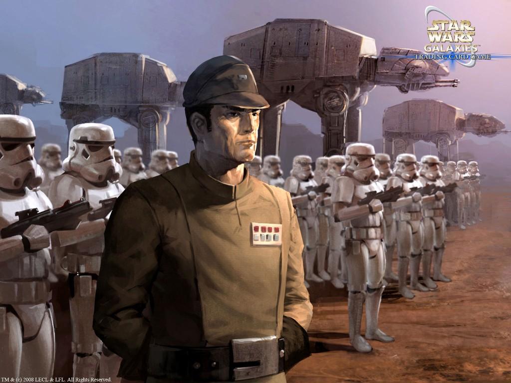 Star Wars Wallpaper: Empire - Might