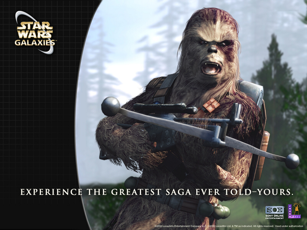 Star Wars Wallpaper: Star Wars Galaxies - Wookie